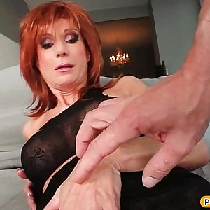 Horny Big Tit MILF get Fucked Bullwhips Style - MilfThing Ten