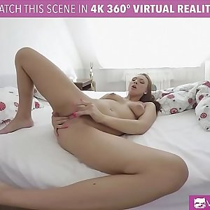 VRBangers.com Ornella Morgan Wake Up From Horny Dream And Masturbates (VR HD)