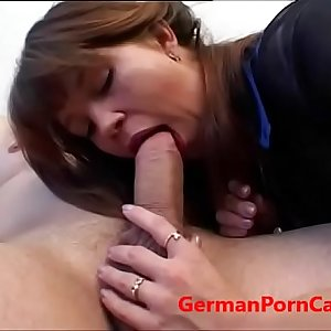 Eastern European Gets Fucked During Porn Casting - GermanPornCasting.com