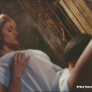 Rita Faltoyano, the Big-titted Empress Fucks with a Slave