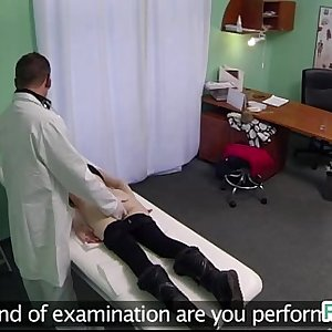 Hardcore sex in fake hospital